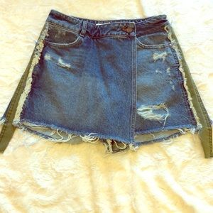 Zara Denim Skort